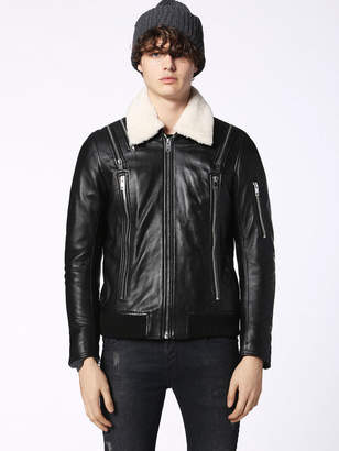Diesel Leather jackets 0NARP - Black - L