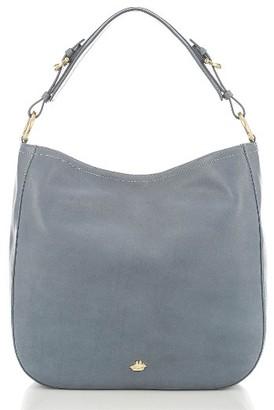 Brahmin Southcoast Eva Leather Tote - Blue $325 thestylecure.com