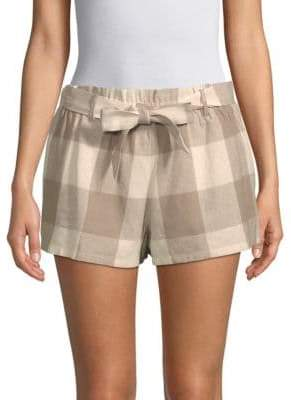Lucca Couture Catalina Paper Bag Shorts