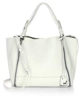 Botkier New York Soho Big Zip Leather Tote