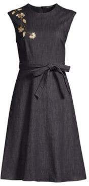 Elie Tahari Caressa A-Line Dress