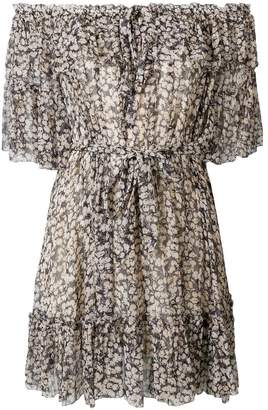 Zimmermann off-shoulder floral dress