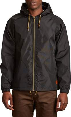 Brixton Claxton Water Repellent Hooded Windbreaker