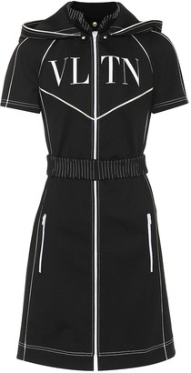 Valentino VLTN tech jersey dress