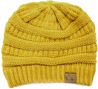 f411e52148a Mustard Knit Hat - ShopStyle Canada