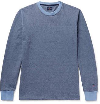 Noah Striped Knitted Cotton T-Shirt