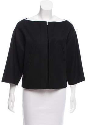 Robert Rodriguez Wool Three-Quarter Sleeve Jacket