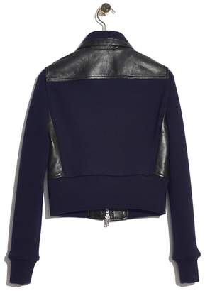 3.1 Phillip Lim Leather sweater-jacket