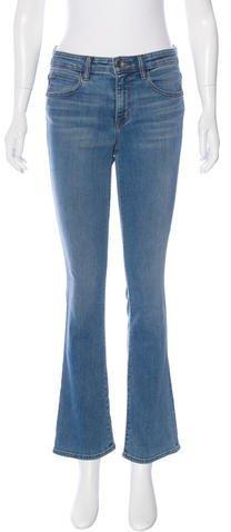 Helmut LangHelmut Lang Mid-Rise Skinny Flare Jean