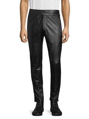 J. Lindeberg Men's Broken Track Leather Pants