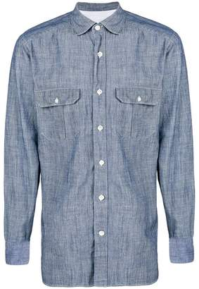 Eleventy denim shirt