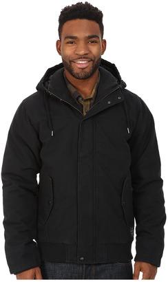 Quiksilver Brooks Parka Jacket $99.50 thestylecure.com