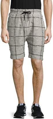 Publish Men's Textured Check-Print Pants