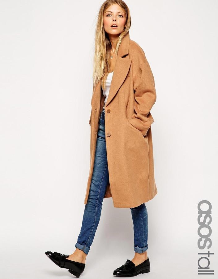 ASOS TALL Cocoon Coat