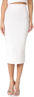 Cushnie Et Ochs Fitted Midi Skirt $595 thestylecure.com