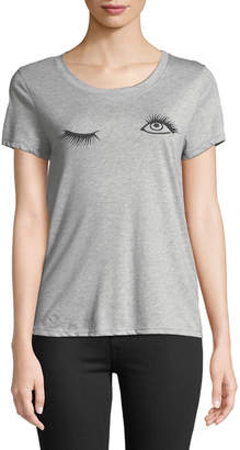 Knit Riot Wink Short-Sleeve Graphic Tee