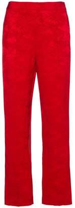 Rosie Assoulin Oboe Jacquard trousers