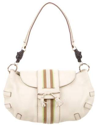 Anya Hindmarch Accented Leather Hobo gold Accented Leather Hobo
