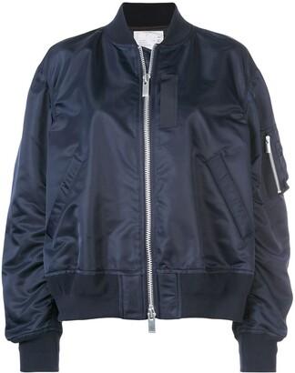 Sacai (サカイ) - Sacai オーバサイズ ボンバージャケット