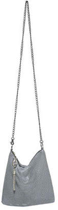 Whiting & Davis Ibiza Snake-Head Crossbody Bag