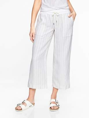 Athleta Stripe Bali Linen Crop