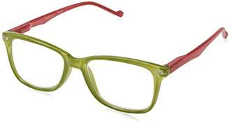 FRAMe WORK Peepers Women's New Wave Rectangular Reading Glasses