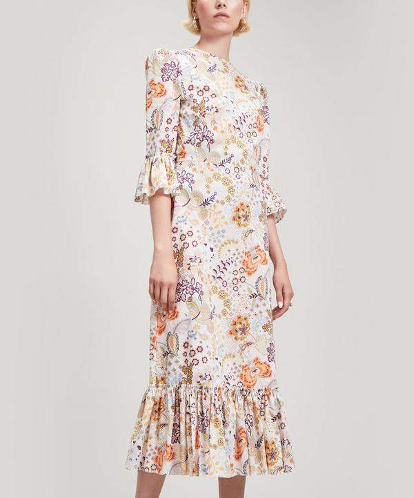 The Vampire's Wife Falconetti Floral Silk Dress