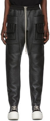 Rick Owens Black Creatch Cargo Pants