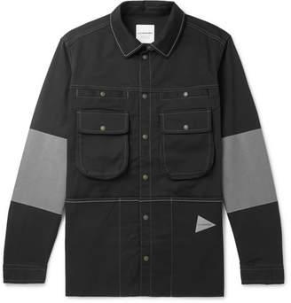 And Wander Andover Reflective-Panelled Cordura Shirt Jacket