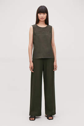 Cos LONG LOOSE-FIT TROUSERS