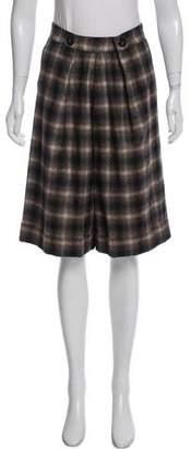 Cacharel Wool Knee-Length Shorts