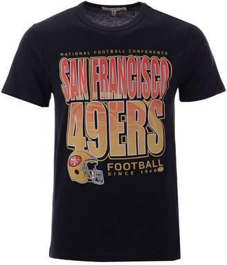 Authentic Nfl Apparel Men San Francisco 49ers Glory Days Retro T-Shirt