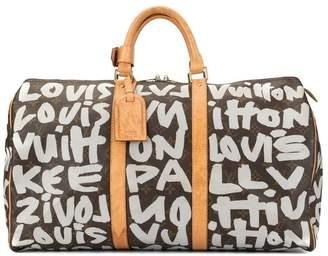 66f3fc1e6be9 Louis Vuitton Pre-Owned Keepall 50 Graffiti bag