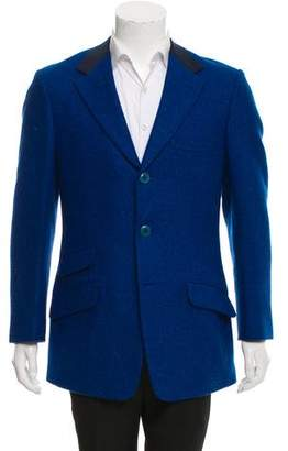 Gianni Versace Wool Three-Button Blazer