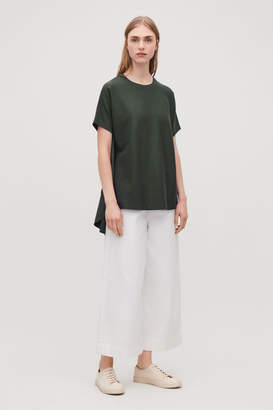 Cos CIRCLE-PANELLED T-SHIRT