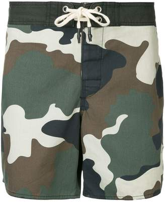 The Upside military printed shorts