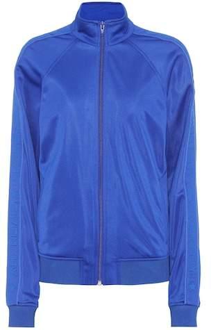 Trainingsjacke aus Jersey