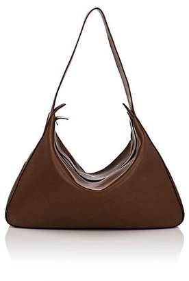 The Row Women's Saddle Leather Hobo Bag - Brown