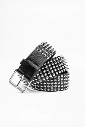 Zadig & Voltaire Spi Spikes Belt