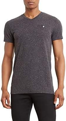 Kenneth Cole Reaction Men's Short Sleeve Linen V-Neck