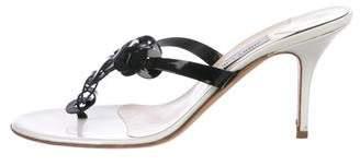 Jimmy Choo Nice Slide Sandals