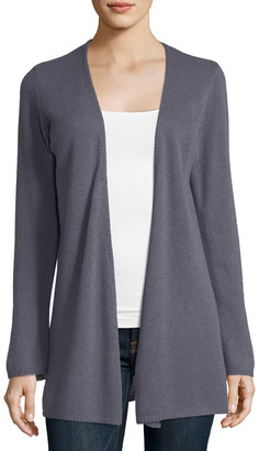 Minnie Rose Cashmere Open-Front Duster $155 thestylecure.com
