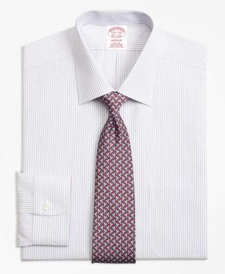 Brooks Brothers Madison Classic-Fit Dress Shirt, Non-Iron Triple Stripe