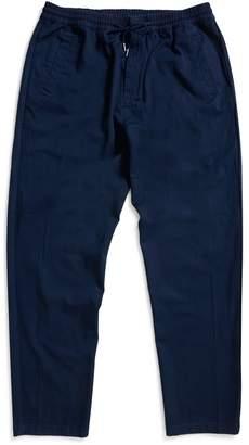 Folk Drawcord Trousers Navy