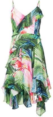 Josie Natori Sunset Palms slip dress