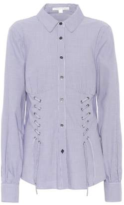 Jonathan Simkhai Gingham cotton shirt