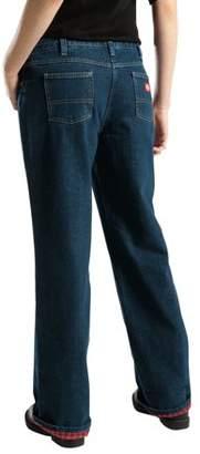 Dickies Women's Flannel Lined Jean