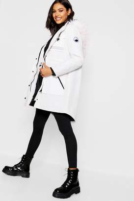 boohoo Luxe Arctic Faux Fur Parka