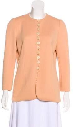 Akris Punto Structured Virgin Wool Jacket