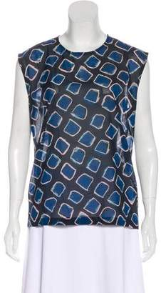Christian Wijnants Silk Sleeveless Top